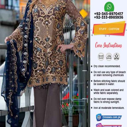 Elaf Chiffon Collection Clothes 2020