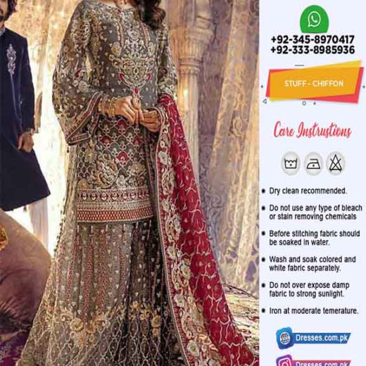 Emaan Adeel Bridal Luxury Clothes