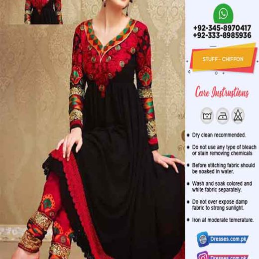 Indian Balochi Embroidery Frock Online
