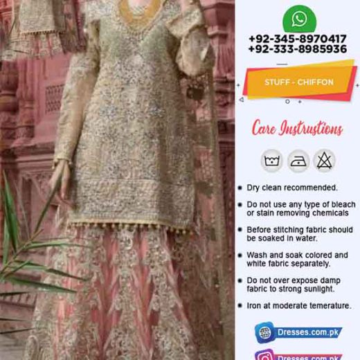 Maryam N Maria Bridal Wear Lehenga 2020