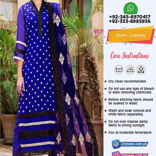 Pakistani Chiffon Clothes 2020