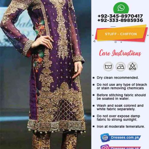 Pakistani Chiffon Clothes Online