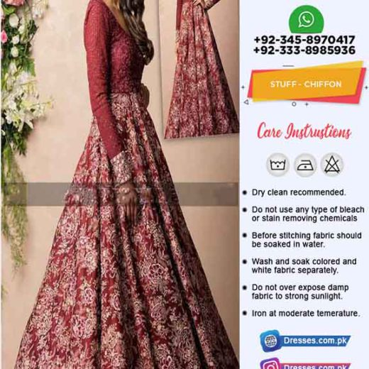 Pakistani Latest Chiffon Clothes 2020