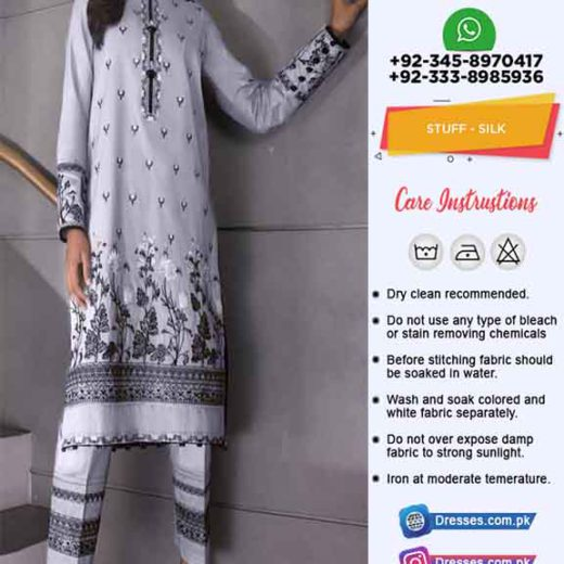 Pakistani Silk Clothes Collection 2020