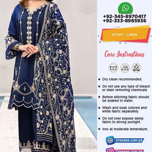 Sadia Asad Linen Collection Online