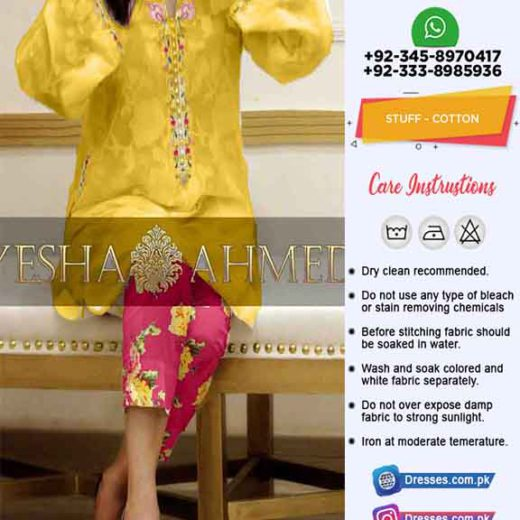 Ayesha Ahmed Turkish Cotton Online