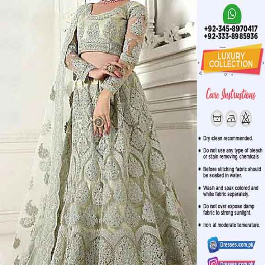 Indian Latest Bridal Frock 2020
