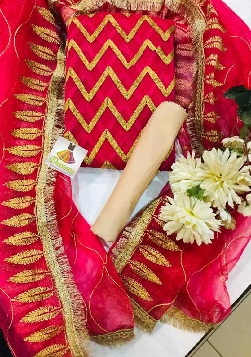 Indian Latest Chiffon Dresses 2019