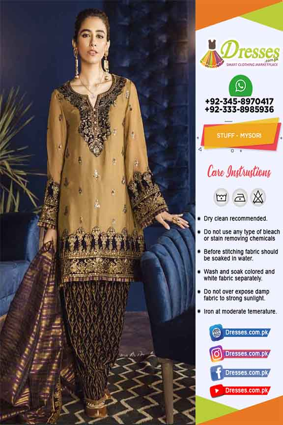 Iznik Latest Mysori Dresses 2020