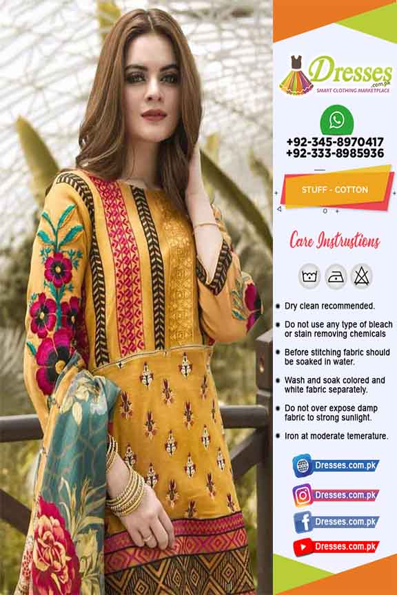 Pakistani Cotton Dresses Online