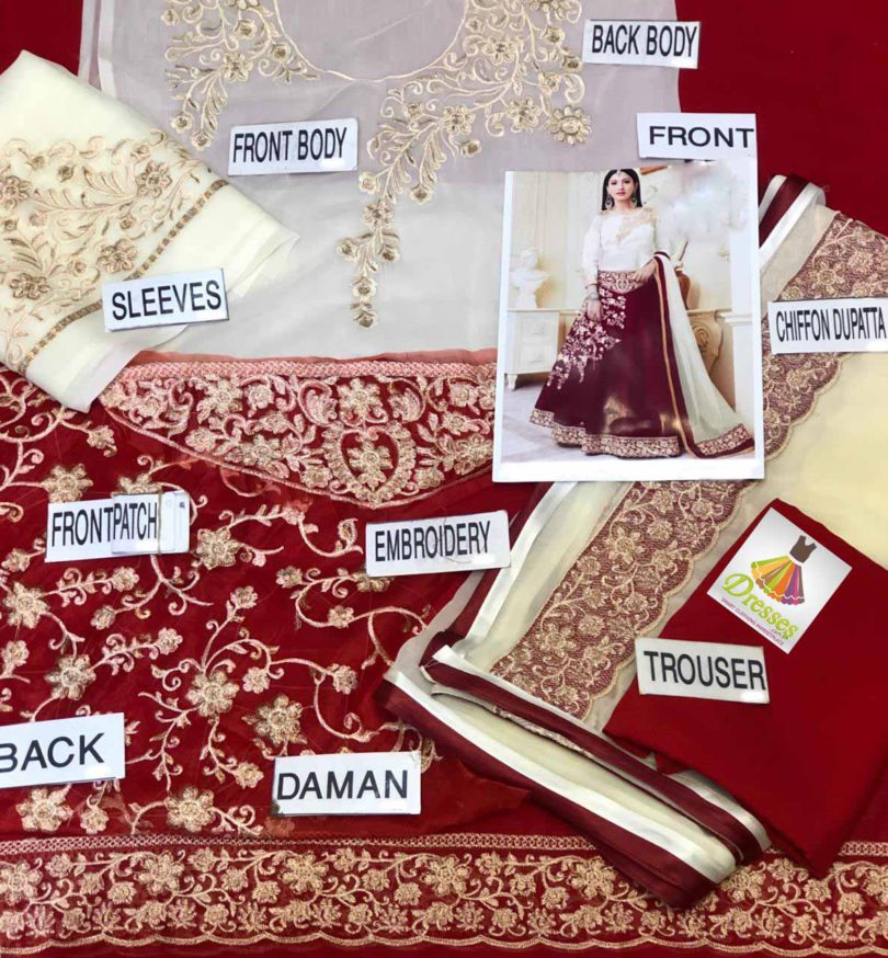Pakistani Latest Bridal Frock 2020