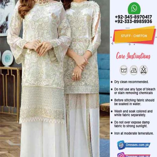 Afrozeh Latest Chiffon Collection Online