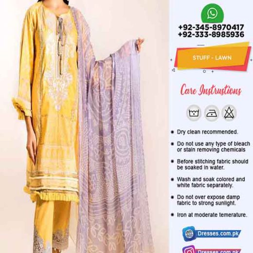 Khaadi Latest Lawn Collection 2020
