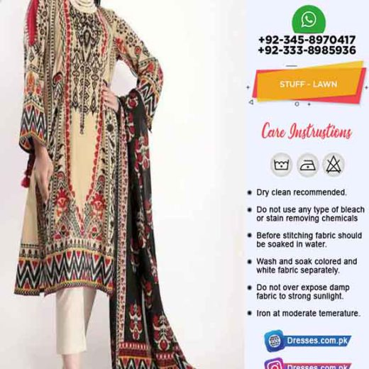 Khaadi Latest Lawn Dresses 2020
