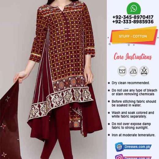Maria B Latest Cotton Dresses 2020