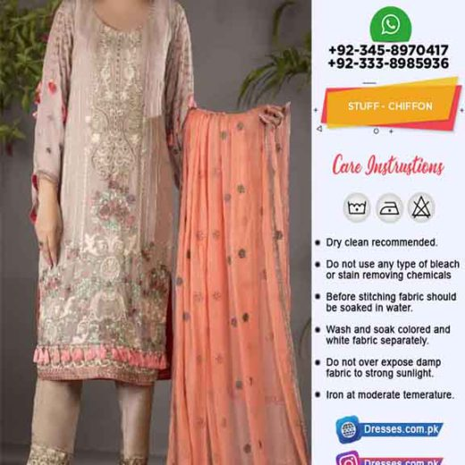Pakistani Latest Chiffon Clothes