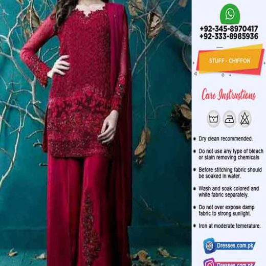 Zainab Chottani Chiffon Collection 2020