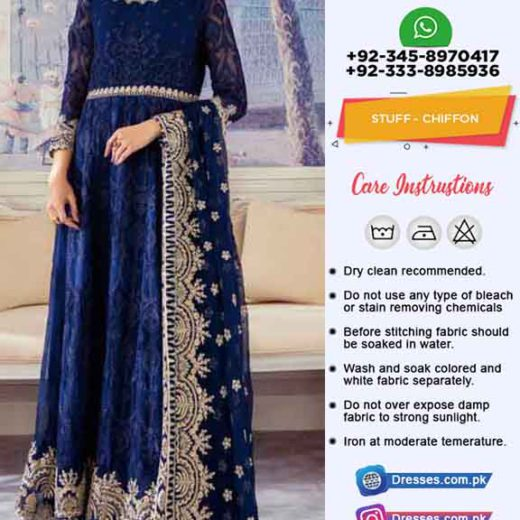 Baroque Latest Bridal Frock 2020