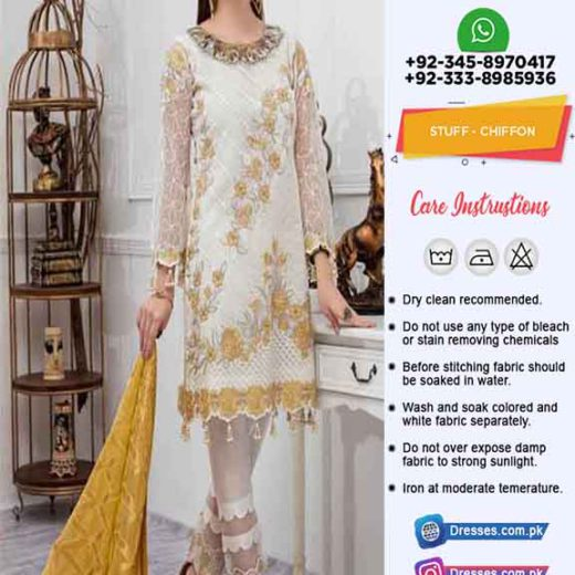 Iznik Latest Chiffon Clothes Shopping
