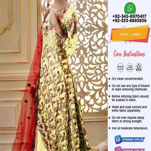 Pakistani Latest Summer Dresses