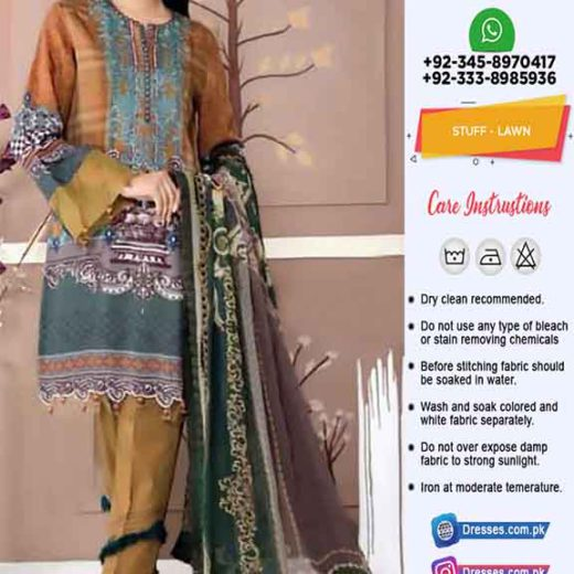 Pakistani Lawn Dresses Collection 2020