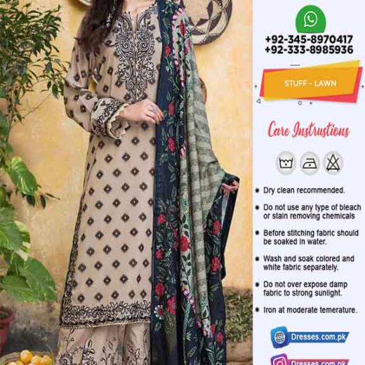 Pakistani Latest Lawn Collection Online