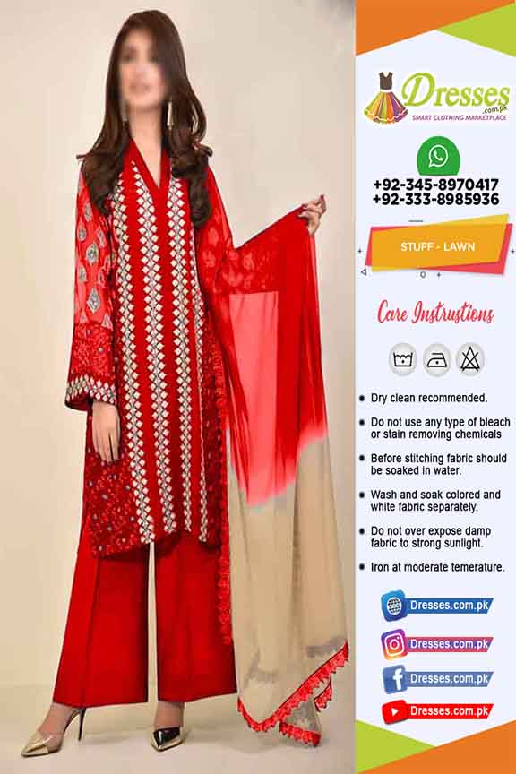 Agha Noor Latest Lawn Dresses 2020
