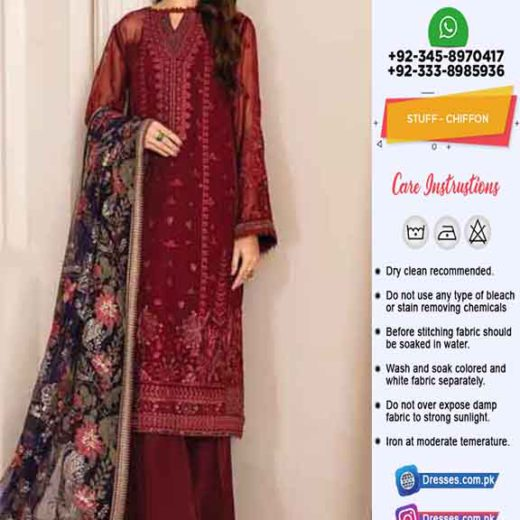Baroque Latest Chiffon Collection Online