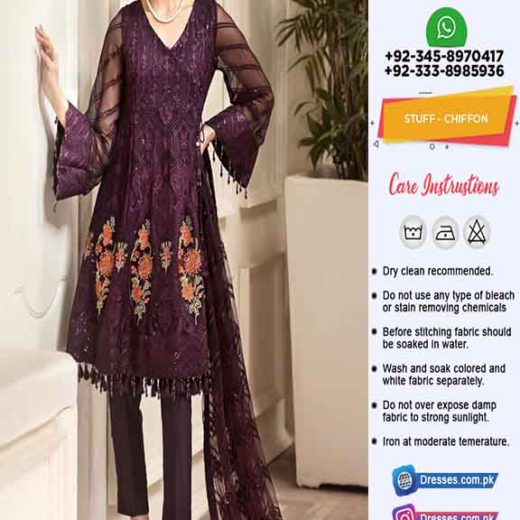 Jazmin Latest Chiffon Collection