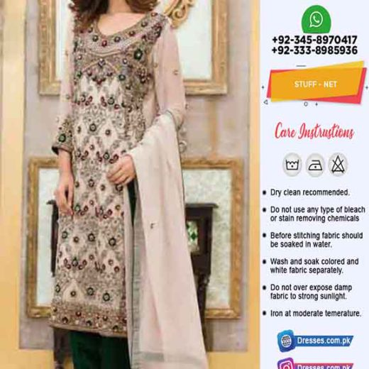 Nomi Ansari Bridal Net Collection