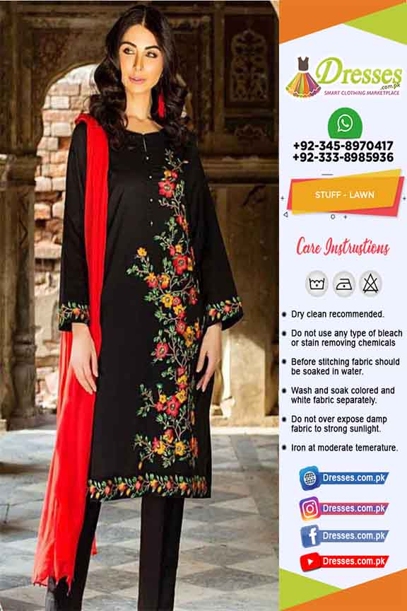 Pakistani Eid Summer Dresses