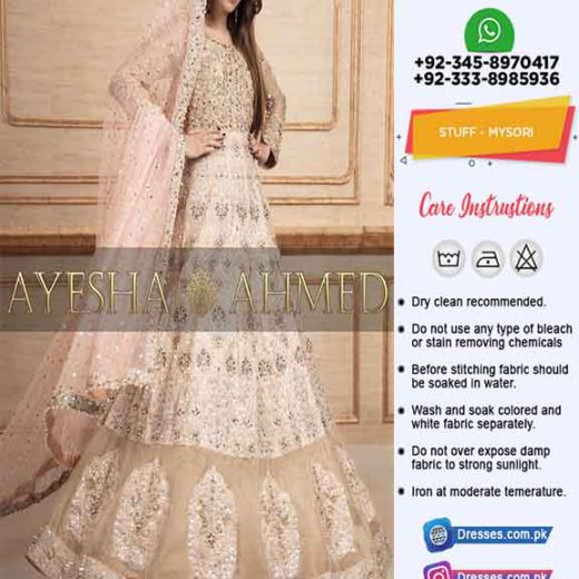 Ayesha Ahmed Bridal Collection Online