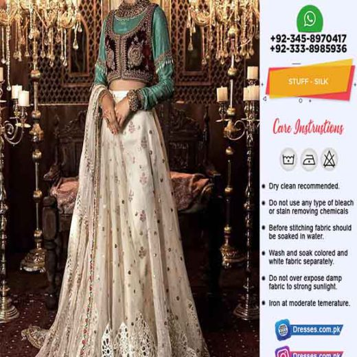Maria B Bridal Silk Dresses 2020