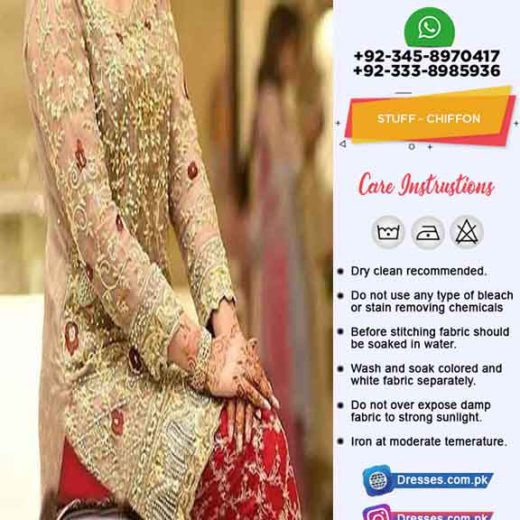 Aliza waqar premium party wear dress