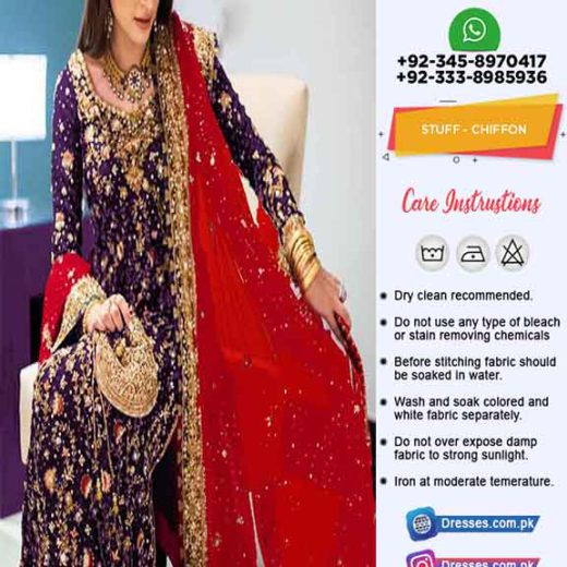 Gul Ahmed Wedding Dresses Online