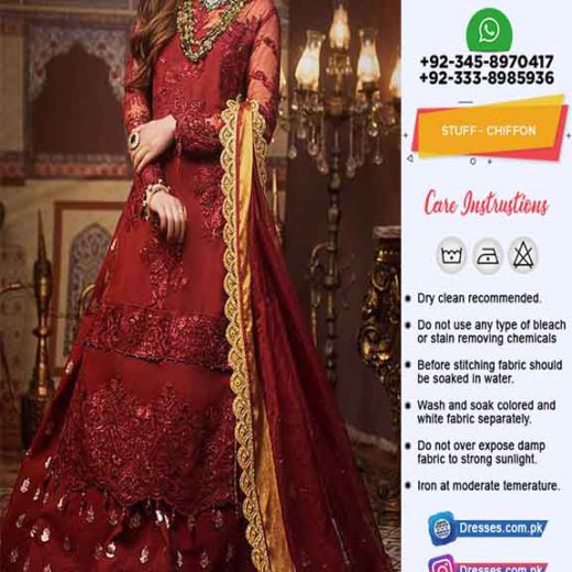 Asim Jofa Latest Bridal Dresses Online