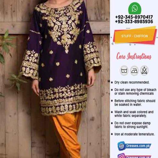 Maryams Latest Chiffon Dresses Online