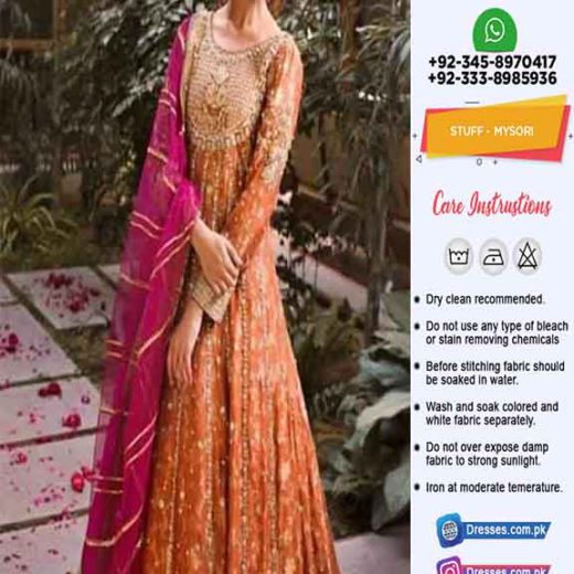 Annus Abrar Latest Bridal Collection