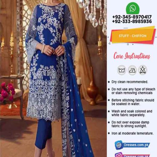 Elaf Latest Chiffon Dresses 2021
