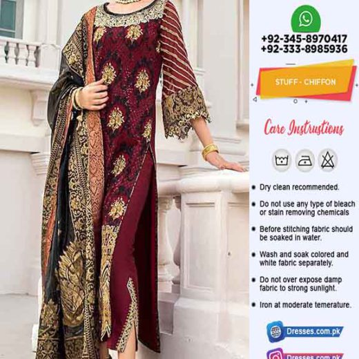 Zainab Chottani Chiffon Collection 2021