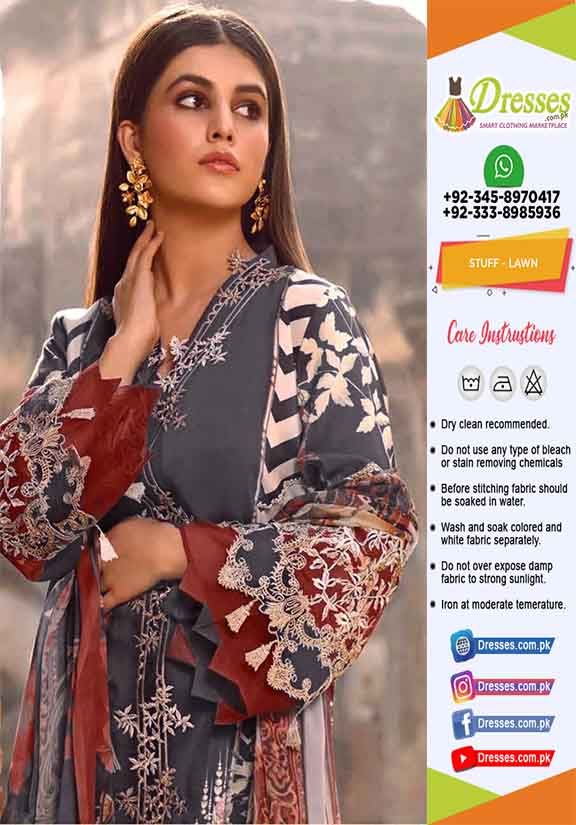 Firdous Latest Lawn Collection 2021