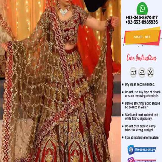 Kashees Bridal Net Collection Online