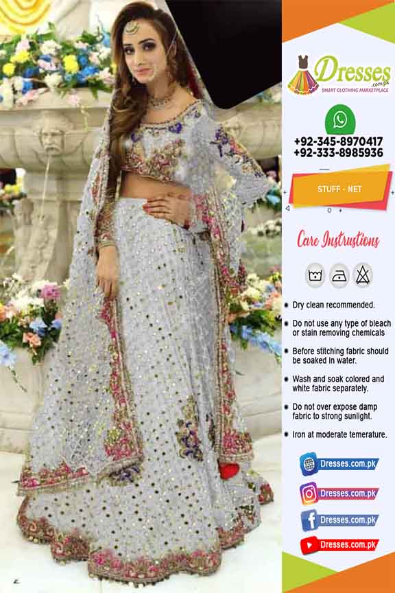 Kashees Bridal Net Dresses 2021