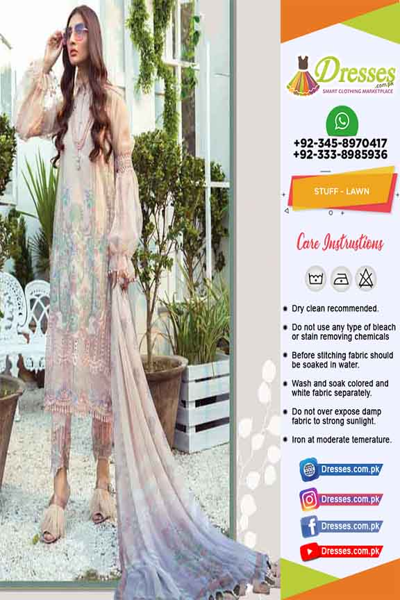 Maria B Lawn Eid Collection Online