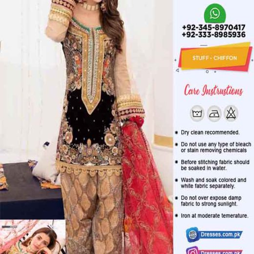 Pakistani Chiffon Eid Collection Online