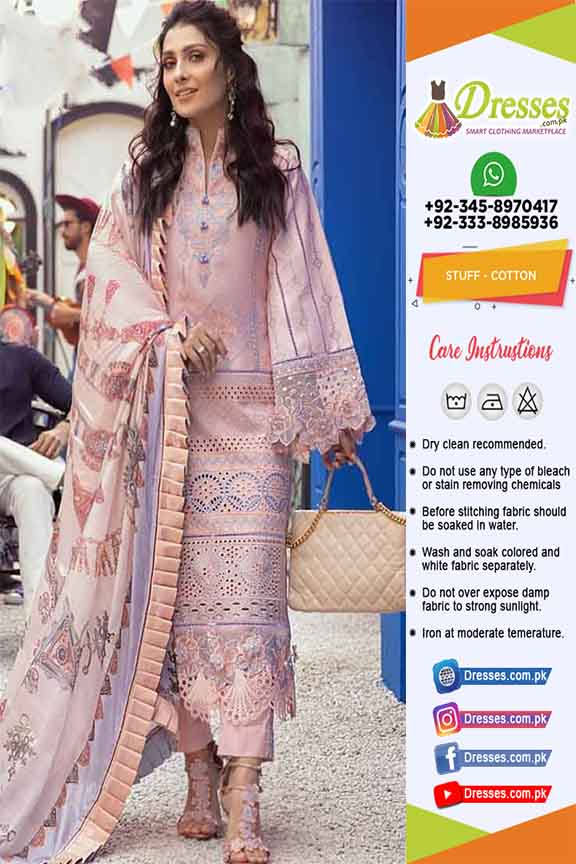 Pakistani Eid Cotton Collection 2021
