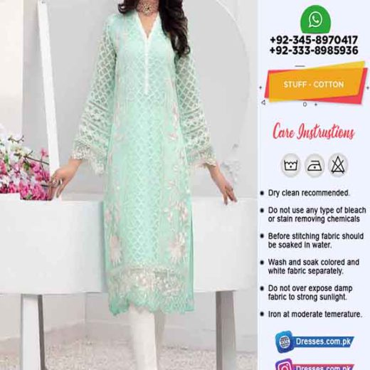 Pakistani Eid Cotton Dresses Online